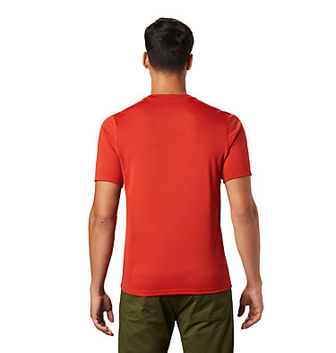 Men's Wicked Tech™ Short Sleeve T-Shirt Wicked Tech™ Short Sleeve T | 004 | M, Desert Red, back