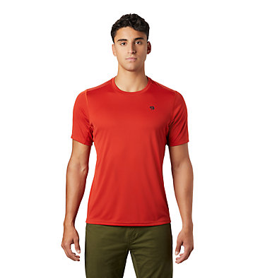 Men's Wicked Tech™ Short Sleeve T-Shirt Wicked Tech™ Short Sleeve T | 004 | M, Desert Red, front