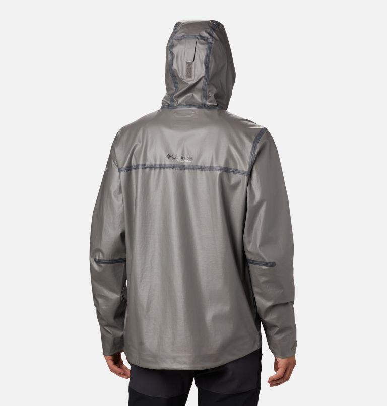 OutDry Ex ECO™ II Tech Shell | 023 | XL Men's OutDry™ Ex Eco II Tech Shell, City Grey, back