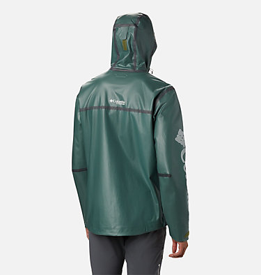 Manteau OutDry™ Ex Eco II Tech pour homme OutDry Ex ECO™ II Tech Shell | 023 | L, Thyme Green, back