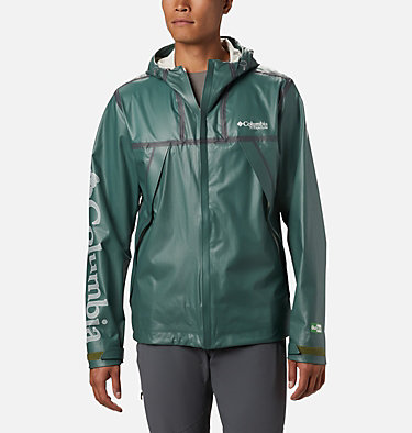 Men's OutDry™ Ex Eco II Tech Shell OutDry Ex ECO™ II Tech Shell | 023 | L, Thyme Green, front