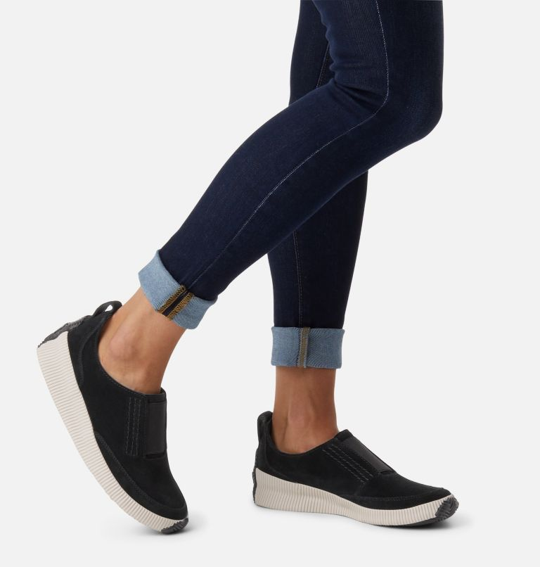 OUT N ABOUT™ PLUS SLIP ON | 010 | 6 Womens Out N About™ Plus Slip On, Black, a9