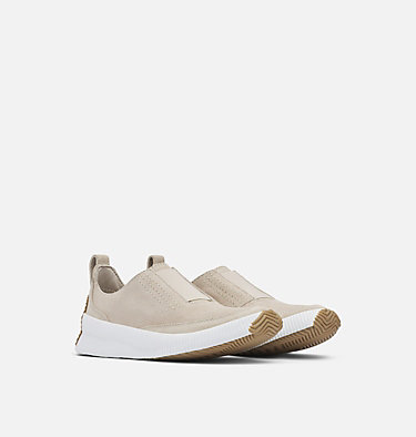 Women's Out N About™ Plus Slip On OUT N ABOUT™ PLUS SLIP ON | 096 | 5.5, Soft Taupe, 3/4 front