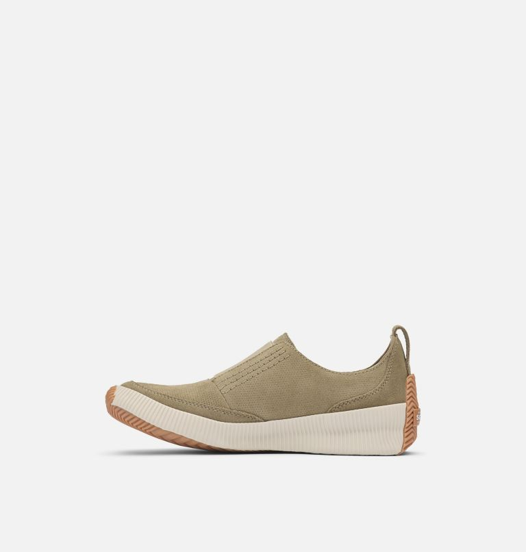 OUT N ABOUT™ PLUS SLIP ON | 365 | 6.5 Womens Out N About™ Plus Slip On, Sage, medial