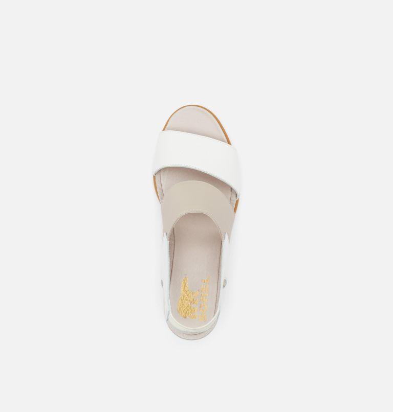 JOANIE™ II SLINGBACK   125   8.5 Womens Joanie™ II Slingback Wedge Sandal, Sea Salt, Tan, top