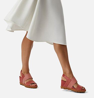 Women's Joanie™ II Slingback Wedge Sandal JOANIE™ II SLINGBACK | 365 | 10, Sandalwood Pink, video
