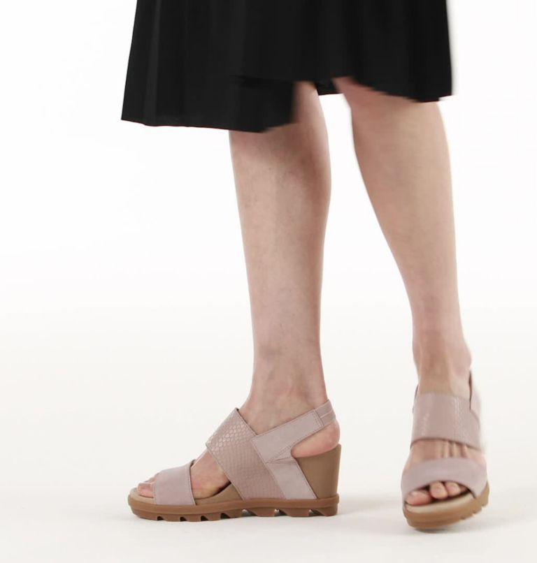 JOANIE™ II SLINGBACK | 649 | 8.5 Womens Joanie™ II Slingback Wedge Sandal, Mauve Vapor, video
