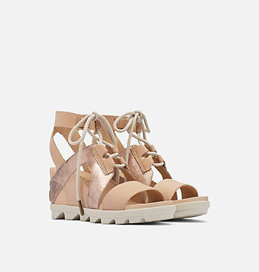 Joanie™ II Ankle Lace Wedge Sandal Für Damen JOANIE™ II ANKLE LACE | 240 | 10, Natural Tan, 3/4 front