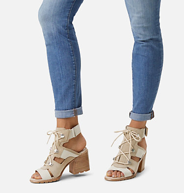 Women's Nadia™ Lace Sandal NADIA™ LACE | 235 | 10, Ancient Fossil, video