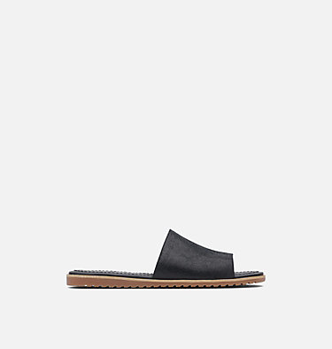 Women's Ella™ Block Slide ELLA™ BLOCK SLIDE | 010 | 7.5, Black, front