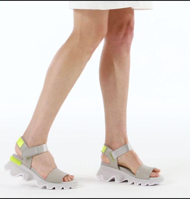 KINETIC™ SANDAL | 082 | 9 Womens Kinetic™ Sandal, Dove, video