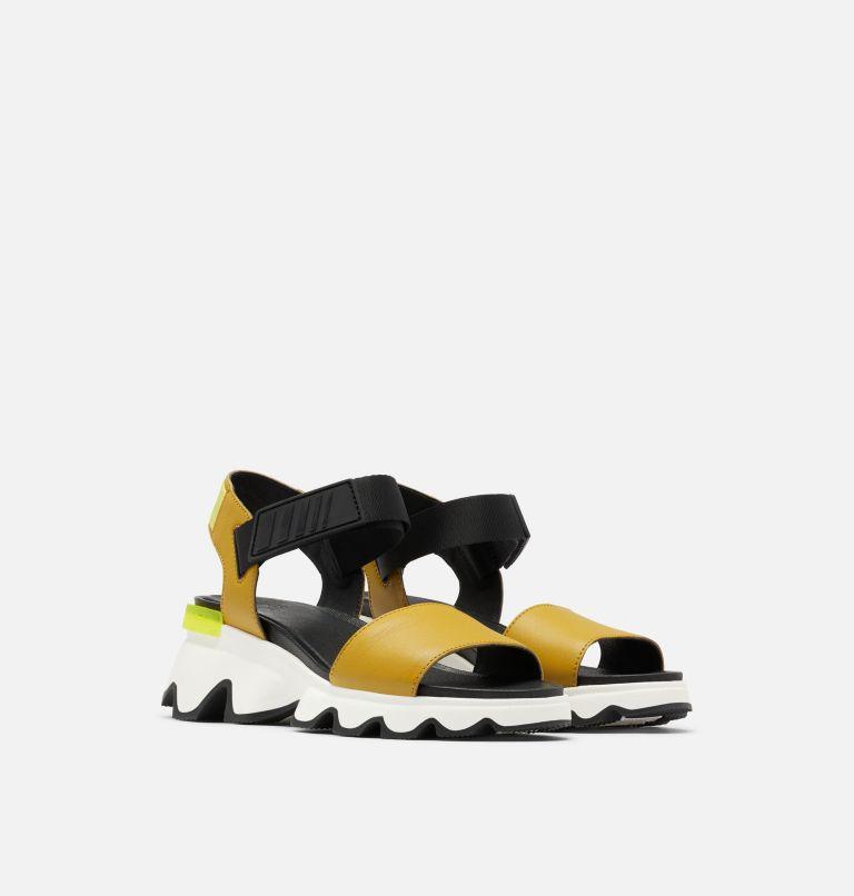 KINETIC™ SANDAL | 236 | 6 Womens Kinetic™ Sandal, Dioxide Gold, 3/4 front