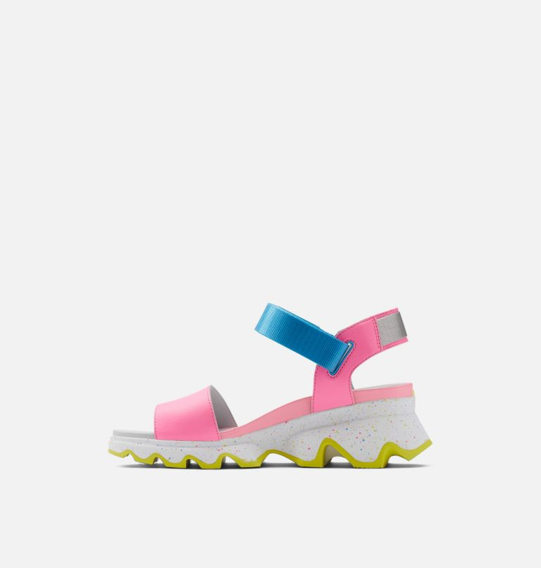KINETIC™ SANDAL | 603 | 8 Womens Kinetic™ Sandal, Bubble Gum, Riptide, medial