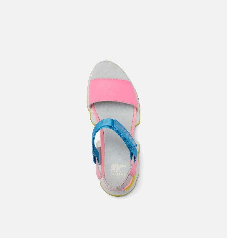 KINETIC™ SANDAL | 603 | 8 Womens Kinetic™ Sandal, Bubble Gum, Riptide, top