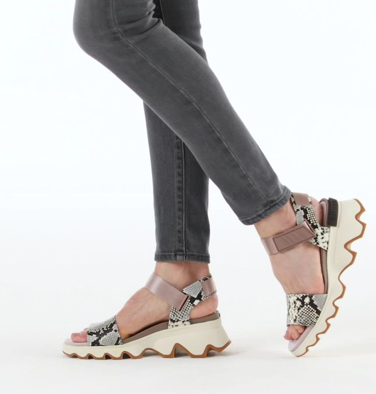 KINETIC™ SANDAL | 649 | 9.5 Women's Kinetic™ Sandal, Mauve Vapor, video