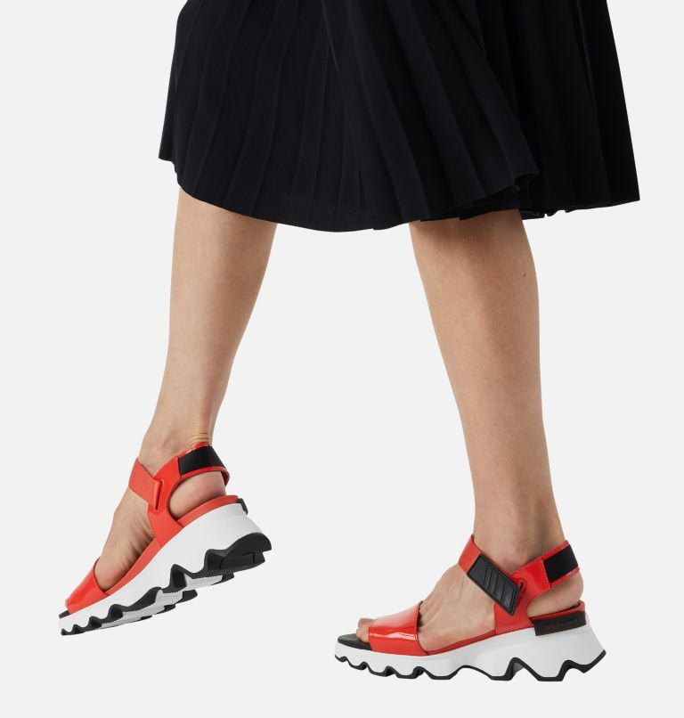 KINETIC™ SANDAL | 854 | 7.5 Womens Kinetic™ Sandal, Signal Red, a9