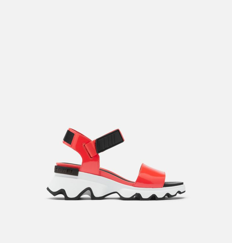KINETIC™ SANDAL | 854 | 9 Womens Kinetic™ Sandal, Signal Red, front