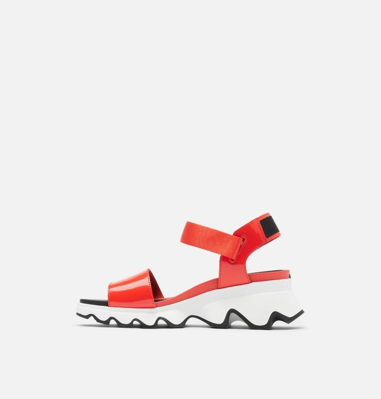 KINETIC™ SANDAL | 854 | 7.5 Womens Kinetic™ Sandal, Signal Red, medial