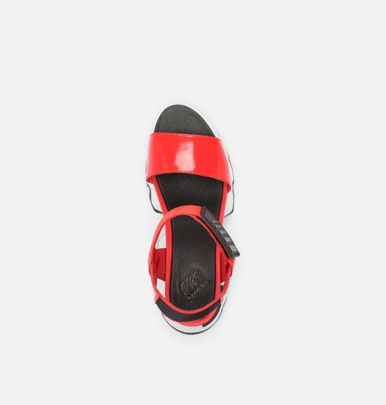 KINETIC™ SANDAL | 854 | 9 Womens Kinetic™ Sandal, Signal Red, top