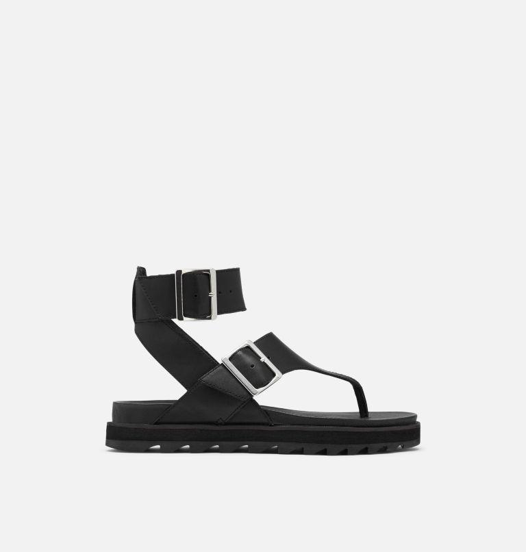 ROAMING™ T-STRAP | 010 | 5 Womens Roaming™ T-Strap Sandal, Black, front