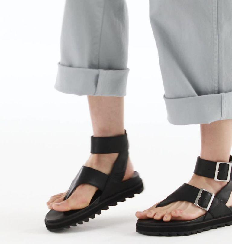 ROAMING™ T-STRAP | 010 | 8 Womens Roaming™ T-Strap Sandal, Black, video