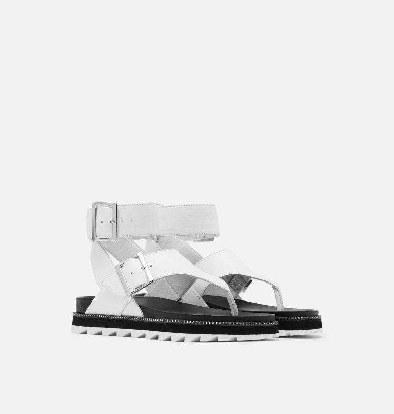 ROAMING™ T-STRAP | 125 | 7 Women's Roaming™ T-strap Sandal, Sea Salt, 3/4 front