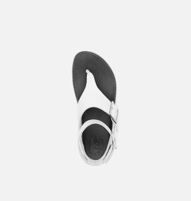 ROAMING™ T-STRAP | 125 | 7 Women's Roaming™ T-strap Sandal, Sea Salt, top
