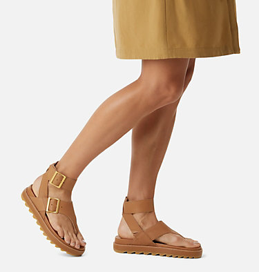 Sandali Roaming™ T-Strap Da Donna ROAMING™ T-STRAP | 010 | 10.5, Camel Brown, video