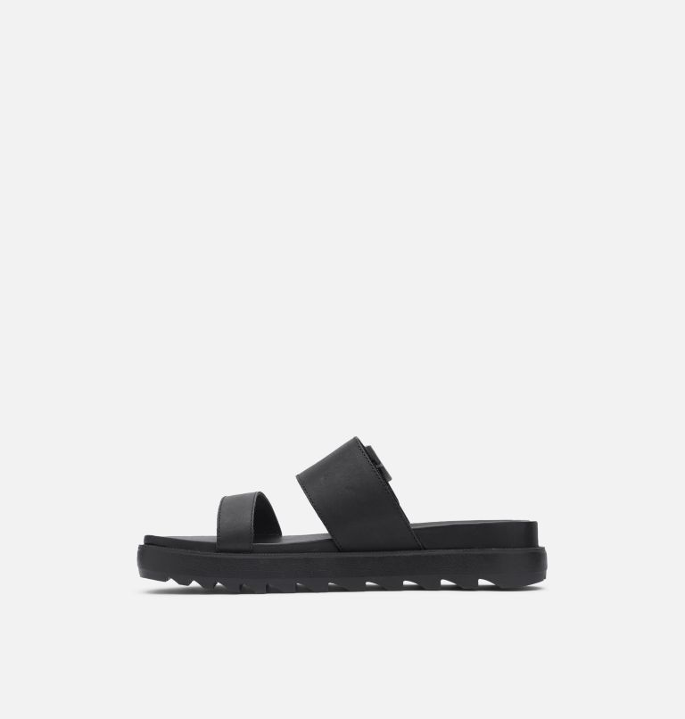 ROAMING™ BUCKLE SLIDE | 010 | 6 Women's Roaming™ Buckle Slide, Black, medial