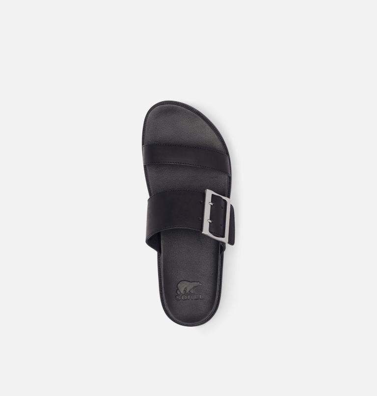 ROAMING™ BUCKLE SLIDE | 010 | 6 Women's Roaming™ Buckle Slide, Black, top