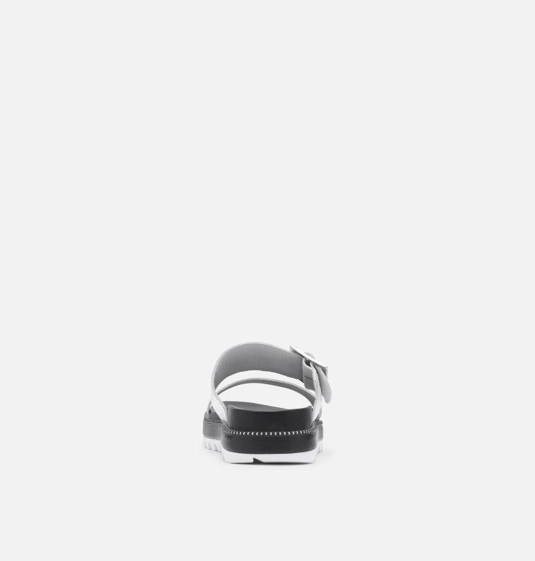 ROAMING™ BUCKLE SLIDE | 125 | 9 Sandale en toile de jute dotée d'un fermoir à boucle Roaming™ pour femme, Sea Salt, back