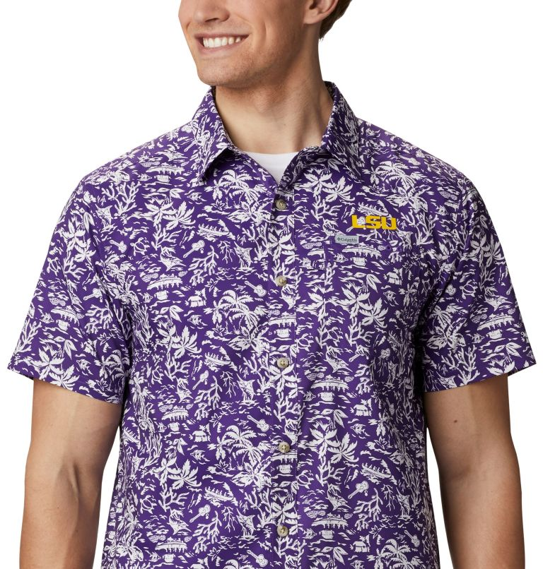 Men's Collegiate PFG Super Slack Tide™ Shirt - LSU Men's Collegiate PFG Super Slack Tide™ Shirt - LSU, a3