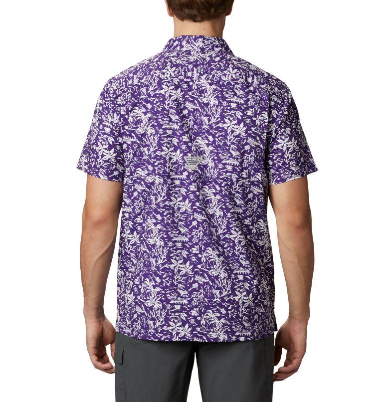 Men's Collegiate PFG Super Slack Tide™ Shirt - LSU Men's Collegiate PFG Super Slack Tide™ Shirt - LSU, back
