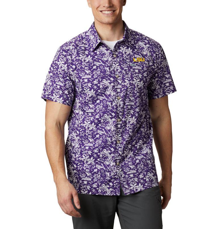 Men's Collegiate PFG Super Slack Tide™ Shirt - LSU Men's Collegiate PFG Super Slack Tide™ Shirt - LSU, front