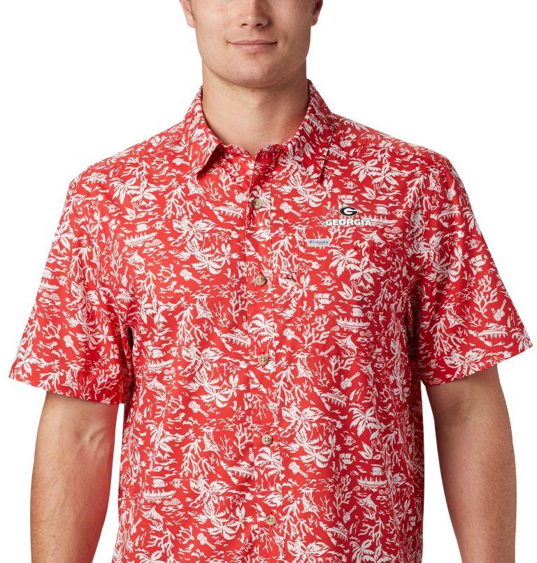 Men's Collegiate PFG Super Slack Tide™ Shirt - Georgia Men's Collegiate PFG Super Slack Tide™ Shirt - Georgia, a4