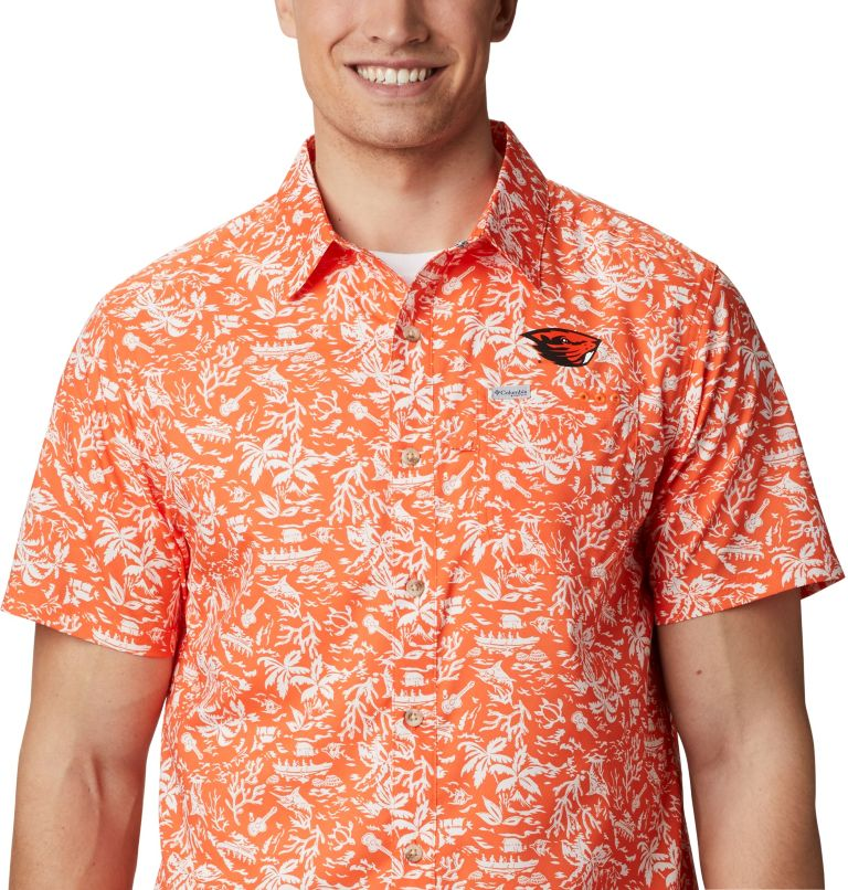 Men's Collegiate PFG Super Slack Tide™ Shirt - Oregon State Men's Collegiate PFG Super Slack Tide™ Shirt - Oregon State, a3