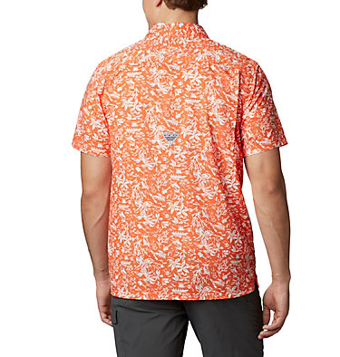 Men's Collegiate PFG Super Slack Tide™ Shirt - Oregon State CLG Super Slack Tide™ Shirt | 820 | S, OSU - Tangy Orange, back