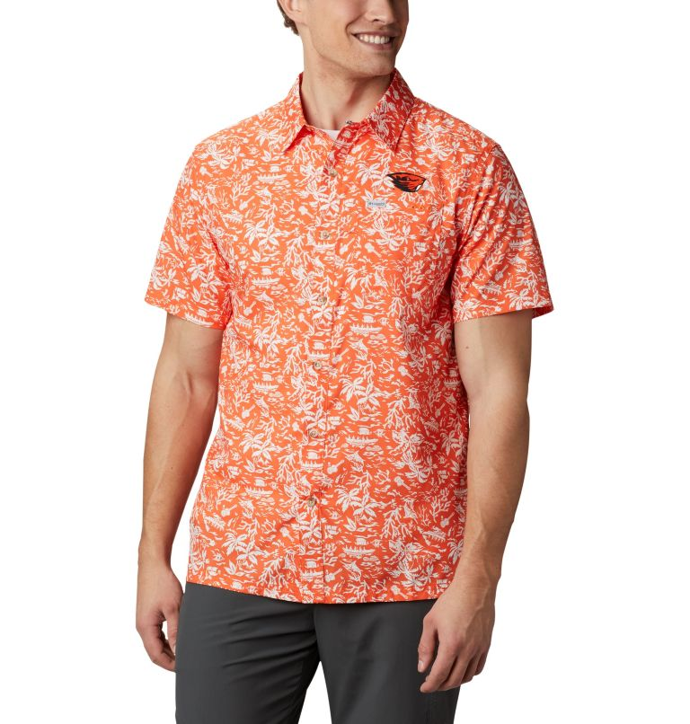 Men's Collegiate PFG Super Slack Tide™ Shirt - Oregon State Men's Collegiate PFG Super Slack Tide™ Shirt - Oregon State, front