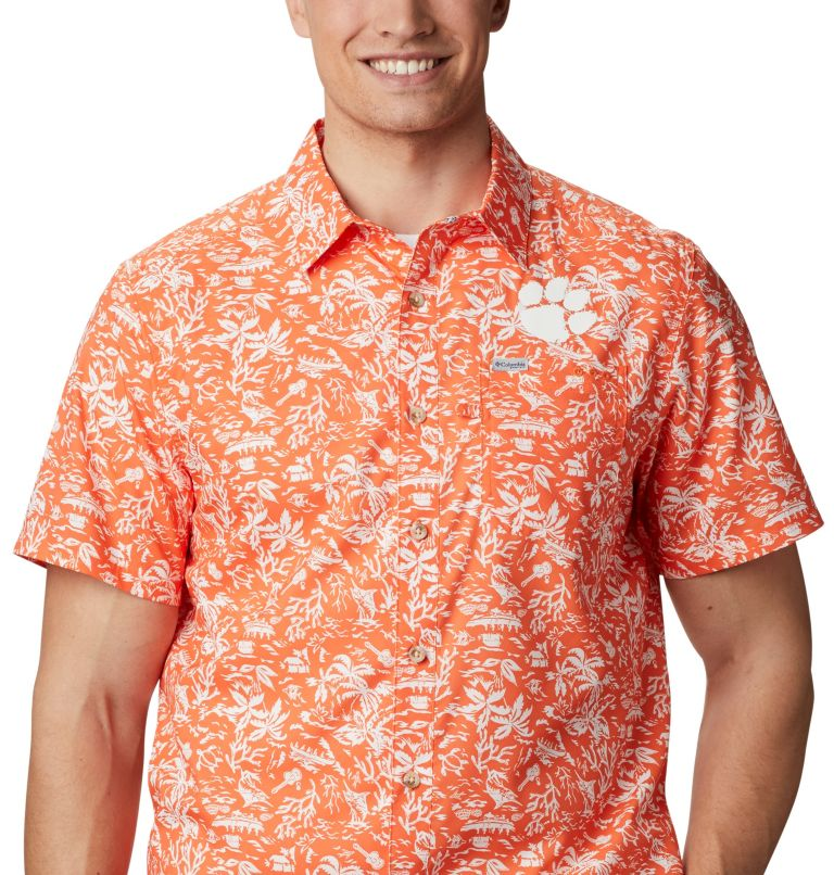 Men's Collegiate PFG Super Slack Tide™ Shirt - Clemson Men's Collegiate PFG Super Slack Tide™ Shirt - Clemson, a3