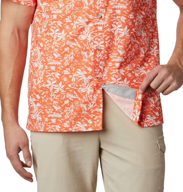 Men's Collegiate PFG Super Slack Tide™ Shirt - Clemson Men's Collegiate PFG Super Slack Tide™ Shirt - Clemson, a4