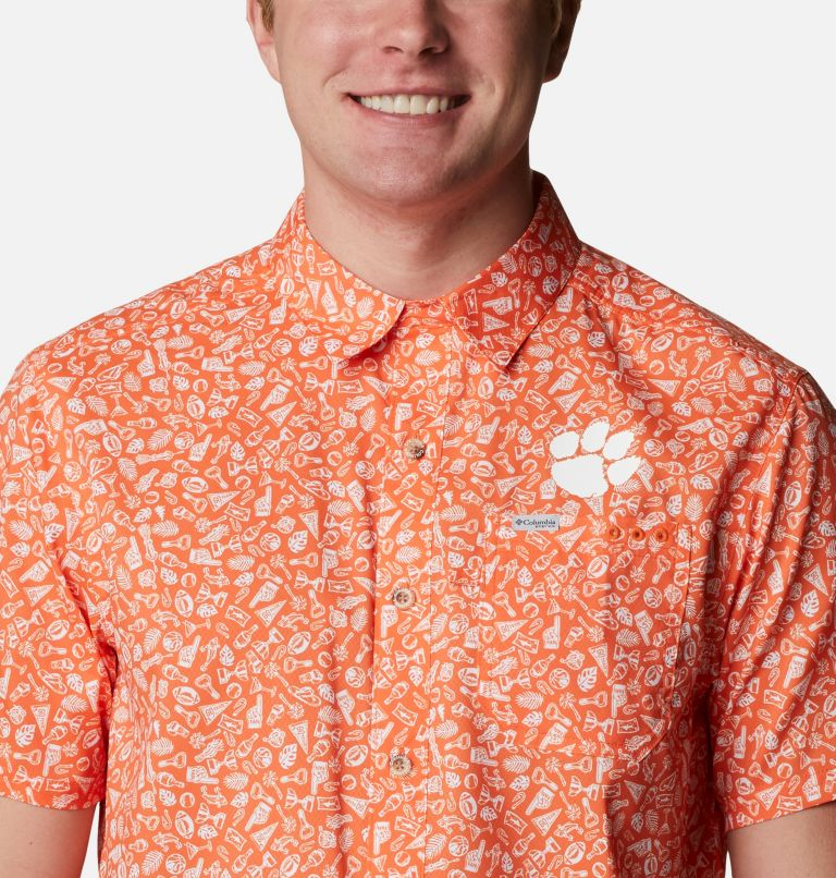 Men's Collegiate PFG Super Slack Tide™ Shirt - Clemson Men's Collegiate PFG Super Slack Tide™ Shirt - Clemson, a2