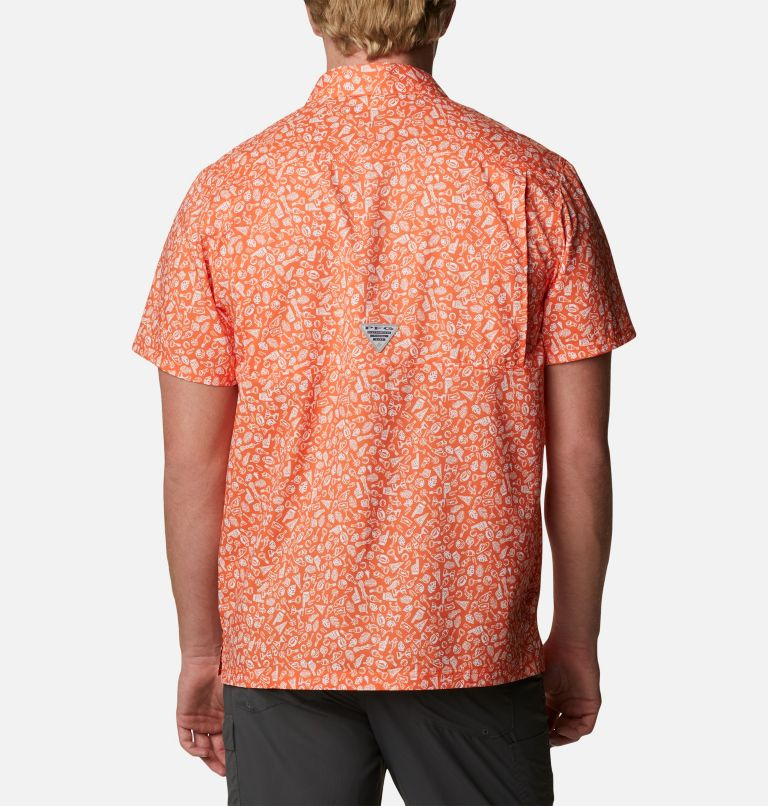 Men's Collegiate PFG Super Slack Tide™ Shirt - Clemson Men's Collegiate PFG Super Slack Tide™ Shirt - Clemson, back