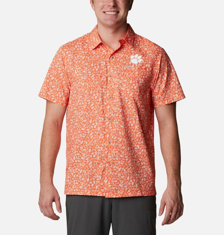 Men's Collegiate PFG Super Slack Tide™ Shirt - Clemson Men's Collegiate PFG Super Slack Tide™ Shirt - Clemson, front