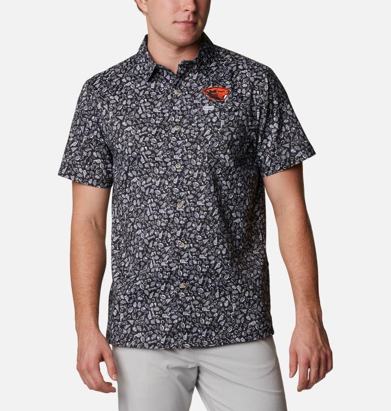 Men's Collegiate PFG Super Slack Tide™ Shirt - Oregon State Men's Collegiate PFG Super Slack Tide™ Shirt - Oregon State, front