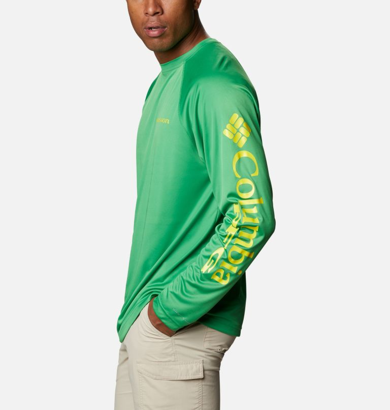 Men's Collegiate PFG Terminal Tackle™ Long Sleeve Shirt - Oregon Men's Collegiate PFG Terminal Tackle™ Long Sleeve Shirt - Oregon, a1