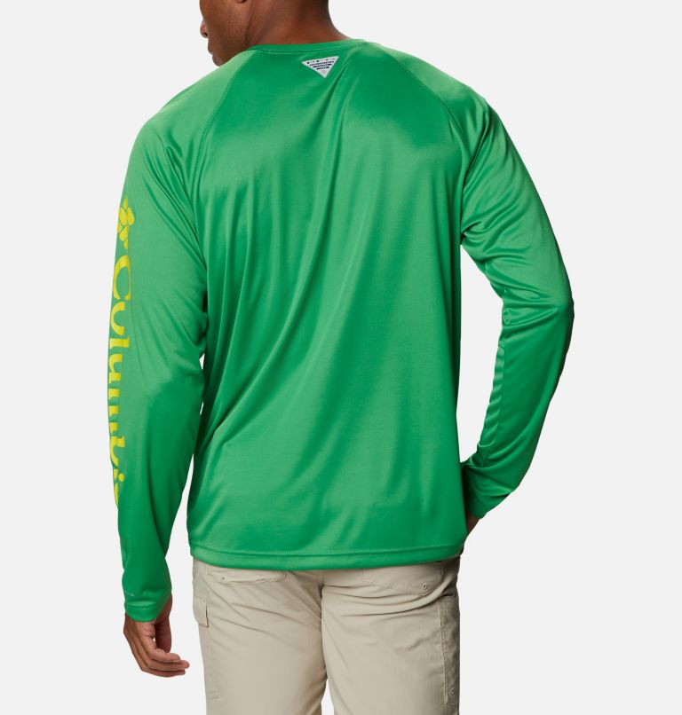 Men's Collegiate PFG Terminal Tackle™ Long Sleeve Shirt - Oregon Men's Collegiate PFG Terminal Tackle™ Long Sleeve Shirt - Oregon, back