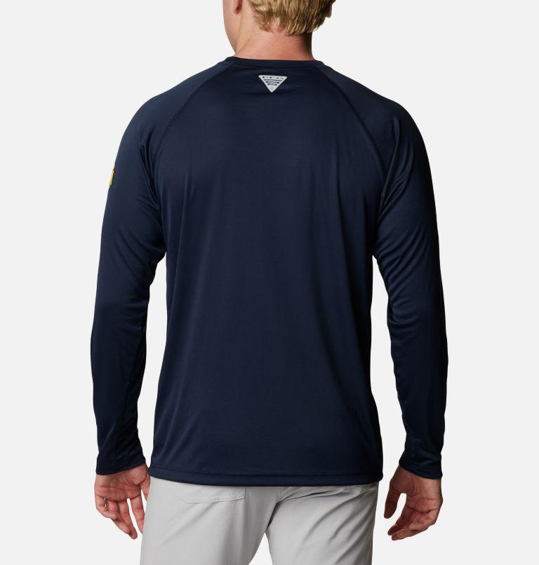 Men's Collegiate PFG Terminal Tackle™ Long Sleeve Shirt - Michigan Men's Collegiate PFG Terminal Tackle™ Long Sleeve Shirt - Michigan, back