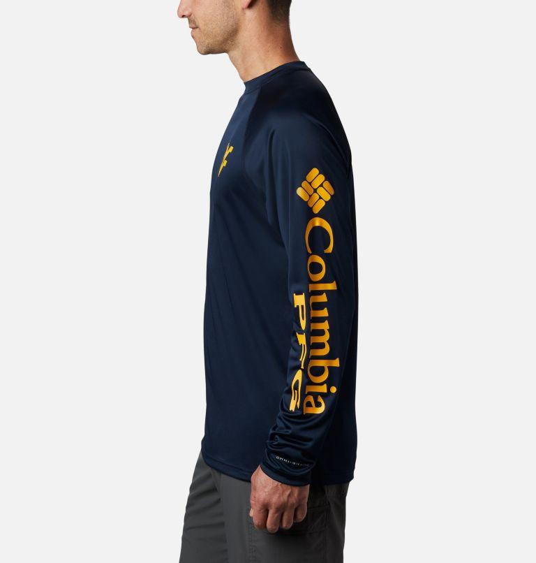 Men's Collegiate PFG Terminal Tackle™ Long Sleeve Shirt - West Virginia Men's Collegiate PFG Terminal Tackle™ Long Sleeve Shirt - West Virginia, a1