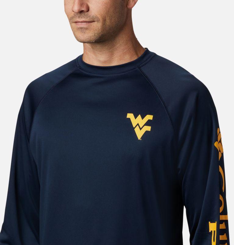 Men's Collegiate PFG Terminal Tackle™ Long Sleeve Shirt - West Virginia Men's Collegiate PFG Terminal Tackle™ Long Sleeve Shirt - West Virginia, a2