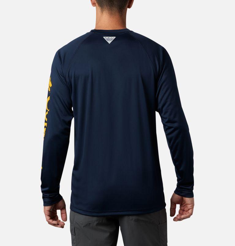 Men's Collegiate PFG Terminal Tackle™ Long Sleeve Shirt - West Virginia Men's Collegiate PFG Terminal Tackle™ Long Sleeve Shirt - West Virginia, back